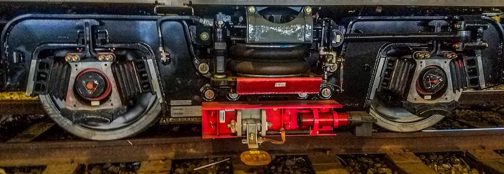 (242k, 1024x355)<br><b>Country:</b> United States<br><b>City:</b> New York<br><b>System:</b> New York City Transit<br><b>Location:</b> Coney Island Shop/Overhaul & Repair Shop<br><b>Car:</b> R-179 (Bombardier, 2016-2019)  <br><b>Photo by:</b> John Dooley<br><b>Date:</b> 6/1/2017<br><b>Notes:</b> Closeup of truck<br><b>Viewed (this week/total):</b> 2 / 1187