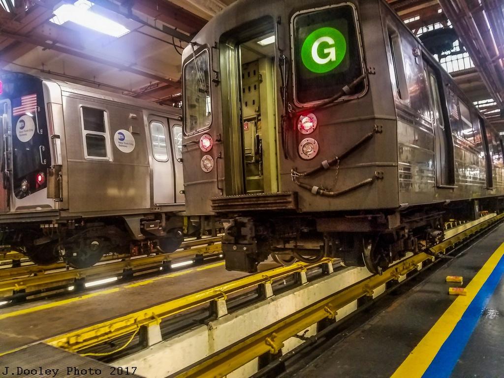 (320k, 1024x768)<br><b>Country:</b> United States<br><b>City:</b> New York<br><b>System:</b> New York City Transit<br><b>Location:</b> Coney Island Shop/Maint. & Inspection Shop<br><b>Car:</b> R-68 (Westinghouse-Amrail, 1986-1988)  2852 <br><b>Photo by:</b> John Dooley<br><b>Date:</b> 5/5/2017<br><b>Viewed (this week/total):</b> 1 / 552