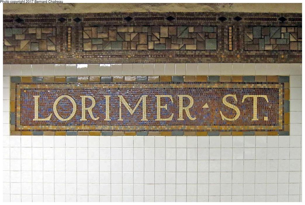 (327k, 1044x702)<br><b>Country:</b> United States<br><b>City:</b> New York<br><b>System:</b> New York City Transit<br><b>Line:</b> BMT Canarsie Line<br><b>Location:</b> Lorimer Street <br><b>Photo by:</b> Bernard Chatreau<br><b>Date:</b> 4/11/2011<br><b>Viewed (this week/total):</b> 0 / 408