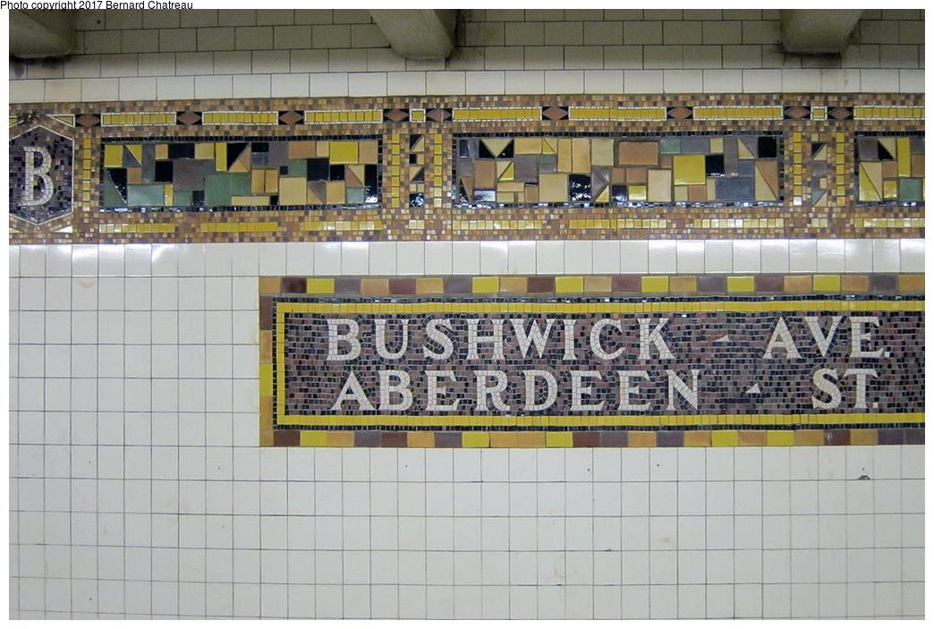 (365k, 1044x703)<br><b>Country:</b> United States<br><b>City:</b> New York<br><b>System:</b> New York City Transit<br><b>Line:</b> BMT Canarsie Line<br><b>Location:</b> Bushwick-Aberdeen <br><b>Photo by:</b> Bernard Chatreau<br><b>Date:</b> 9/25/2011<br><b>Viewed (this week/total):</b> 5 / 518