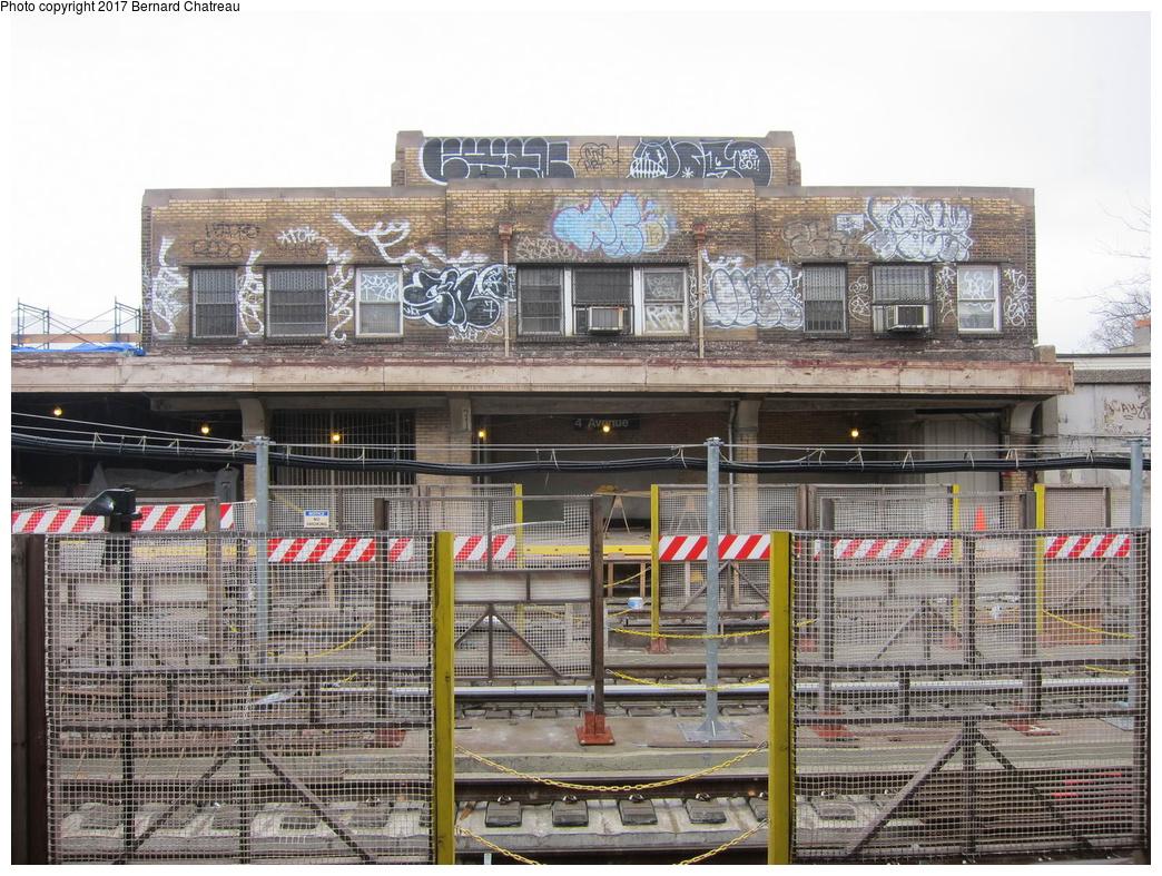 (402k, 1044x787)<br><b>Country:</b> United States<br><b>City:</b> New York<br><b>System:</b> New York City Transit<br><b>Line:</b> IND Crosstown Line<br><b>Location:</b> 4th Avenue <br><b>Photo by:</b> Bernard Chatreau<br><b>Date:</b> 4/16/2011<br><b>Viewed (this week/total):</b> 0 / 428