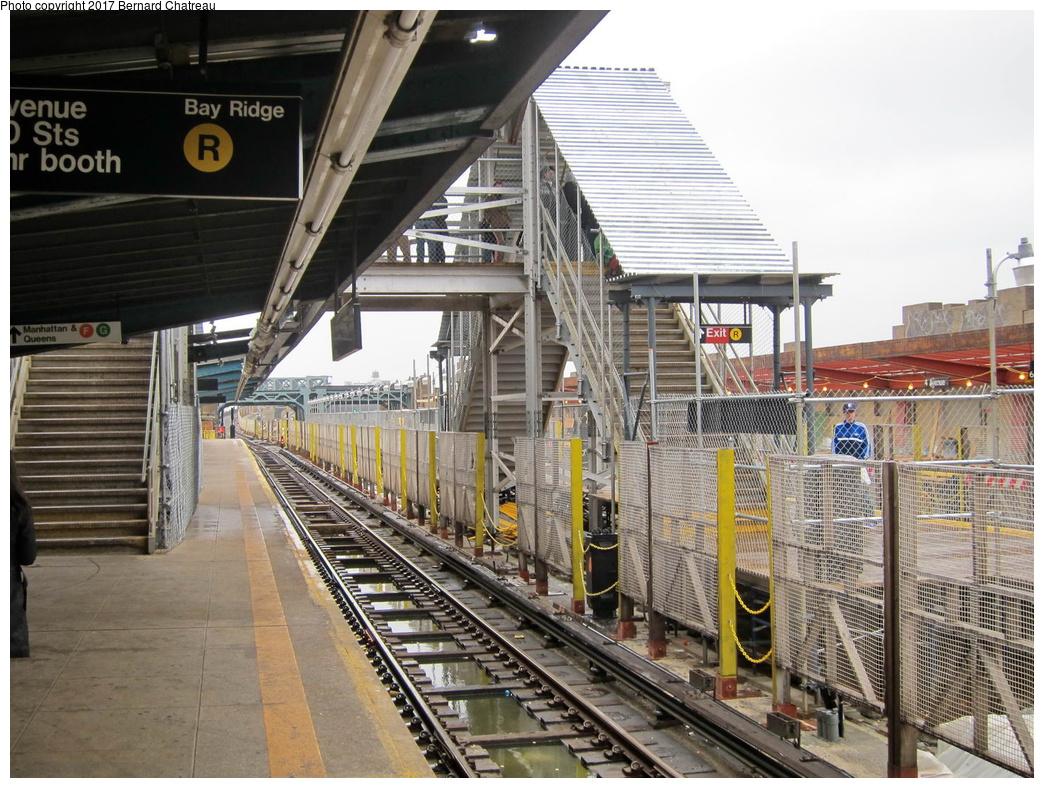 (377k, 1044x788)<br><b>Country:</b> United States<br><b>City:</b> New York<br><b>System:</b> New York City Transit<br><b>Line:</b> IND Crosstown Line<br><b>Location:</b> 4th Avenue <br><b>Photo by:</b> Bernard Chatreau<br><b>Date:</b> 4/16/2011<br><b>Viewed (this week/total):</b> 1 / 382