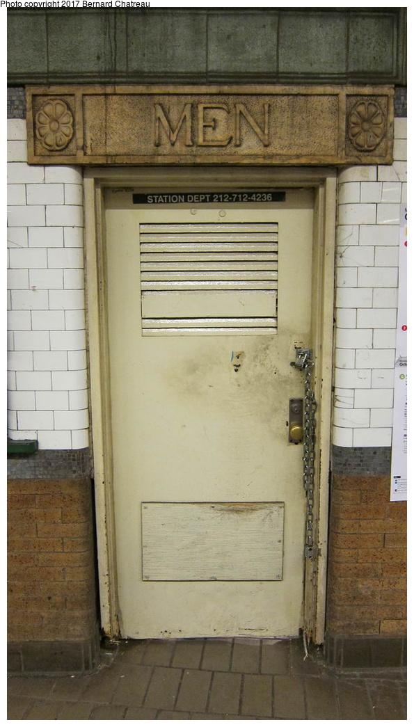 (226k, 595x1045)<br><b>Country:</b> United States<br><b>City:</b> New York<br><b>System:</b> New York City Transit<br><b>Line:</b> IRT East Side Line<br><b>Location:</b> Astor Place <br><b>Photo by:</b> Bernard Chatreau<br><b>Date:</b> 10/4/2011<br><b>Viewed (this week/total):</b> 1 / 373