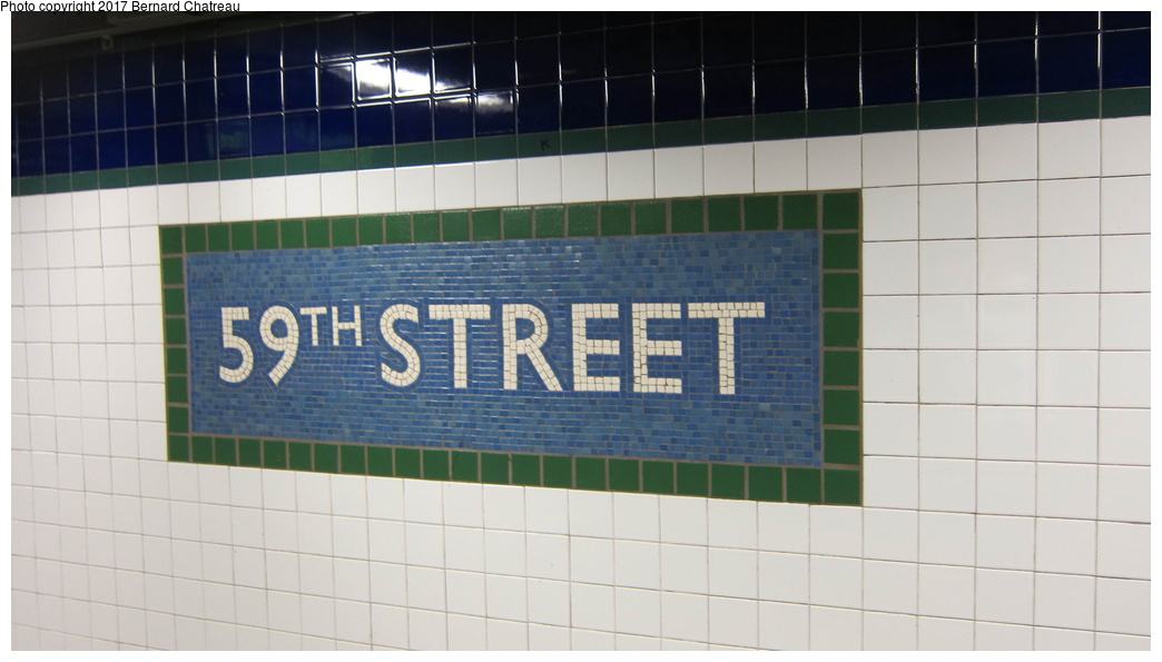 (189k, 1044x595)<br><b>Country:</b> United States<br><b>City:</b> New York<br><b>System:</b> New York City Transit<br><b>Line:</b> IRT East Side Line<br><b>Location:</b> 59th Street <br><b>Photo by:</b> Bernard Chatreau<br><b>Date:</b> 10/5/2011<br><b>Viewed (this week/total):</b> 1 / 387