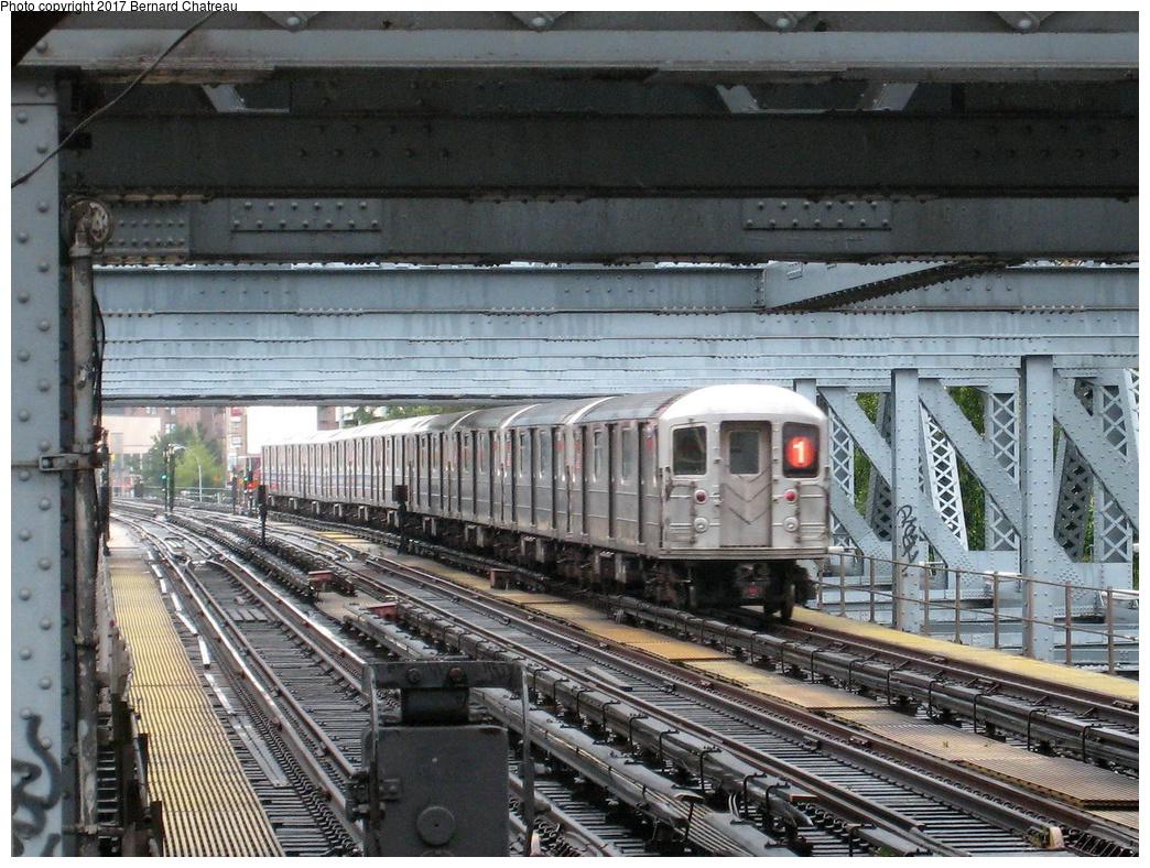 (418k, 1044x788)<br><b>Country:</b> United States<br><b>City:</b> New York<br><b>System:</b> New York City Transit<br><b>Line:</b> IRT West Side Line<br><b>Location:</b> 225th Street <br><b>Route:</b> 1<br><b>Car:</b> R-62A (Bombardier, 1984-1987)   <br><b>Photo by:</b> Bernard Chatreau<br><b>Date:</b> 9/23/2011<br><b>Viewed (this week/total):</b> 3 / 474