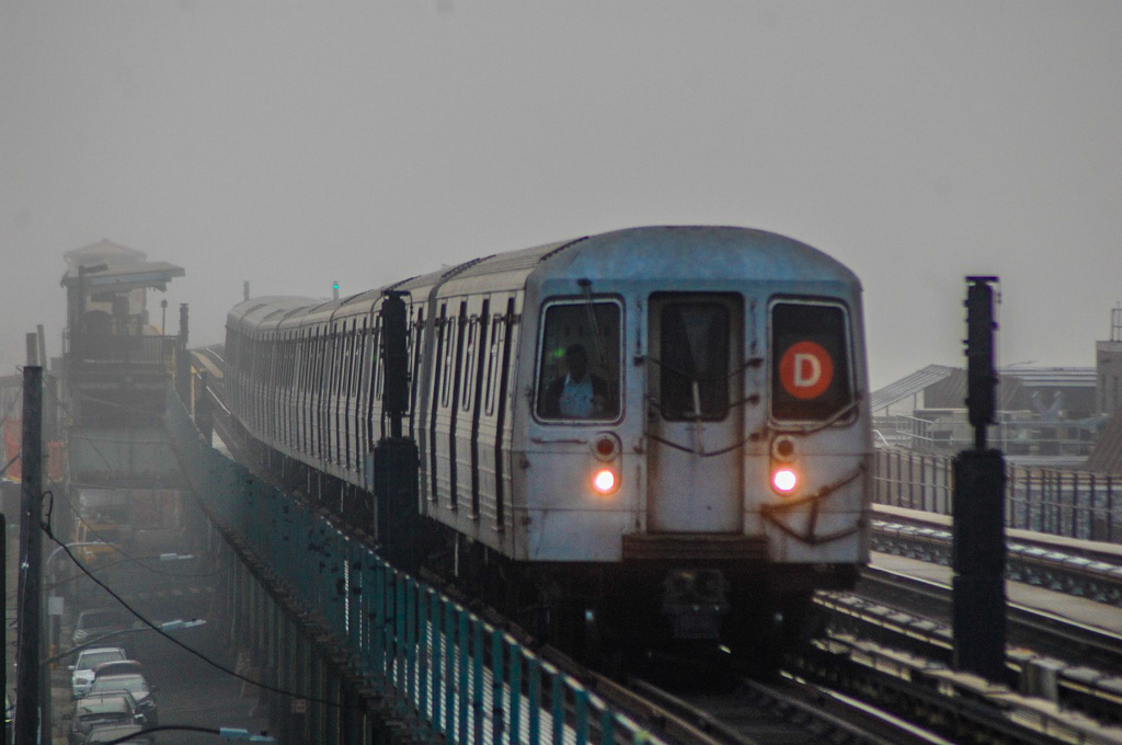 (227k, 1024x680)<br><b>Country:</b> United States<br><b>City:</b> New York<br><b>System:</b> New York City Transit<br><b>Line:</b> BMT Culver Line<br><b>Location:</b> Avenue I <br><b>Route:</b> D reroute<br><b>Car:</b> R-68 (Westinghouse-Amrail, 1986-1988)  2584 <br><b>Photo by:</b> John Dooley<br><b>Date:</b> 2/25/2017<br><b>Viewed (this week/total):</b> 0 / 226
