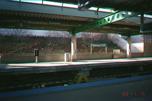 (50k, 600x400)<br><b>Country:</b> United States<br><b>City:</b> Chicago, IL<br><b>System:</b> Chicago Transit Authority<br><b>Line:</b> CTA Orange (Midway)<br><b>Location:</b> Midway<br><b>Photo by:</b> Brian Jakosz<br><b>Date:</b> 11/15/1998<br><b>Viewed (this week/total):</b> 0 / 2384
