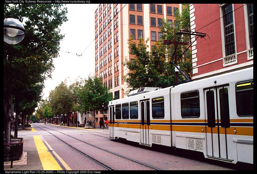 (195k, 824x557)<br><b>Country:</b> United States<br><b>City:</b> Sacramento, CA<br><b>System:</b> SACRT Light Rail<br><b>Location:</b> Cathedral Square <br><b>Photo by:</b> Eric Haas<br><b>Date:</b> 10/25/2000<br><b>Viewed (this week/total):</b> 1 / 1634
