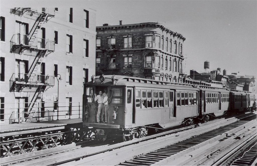 (218k, 1024x665)<br><b>Country:</b> United States<br><b>City:</b> New York<br><b>System:</b> New York City Transit<br><b>Line:</b> 3rd Avenue El<br><b>Location:</b> 34th Street <br><b>Car:</b> Composite 2027 <br><b>Photo by:</b> Ed Watson/Arthur Lonto Collection<br><b>Collection of:</b> Joe Testagrose<br><b>Date:</b> 6/25/1950<br><b>Viewed (this week/total):</b> 6 / 5051