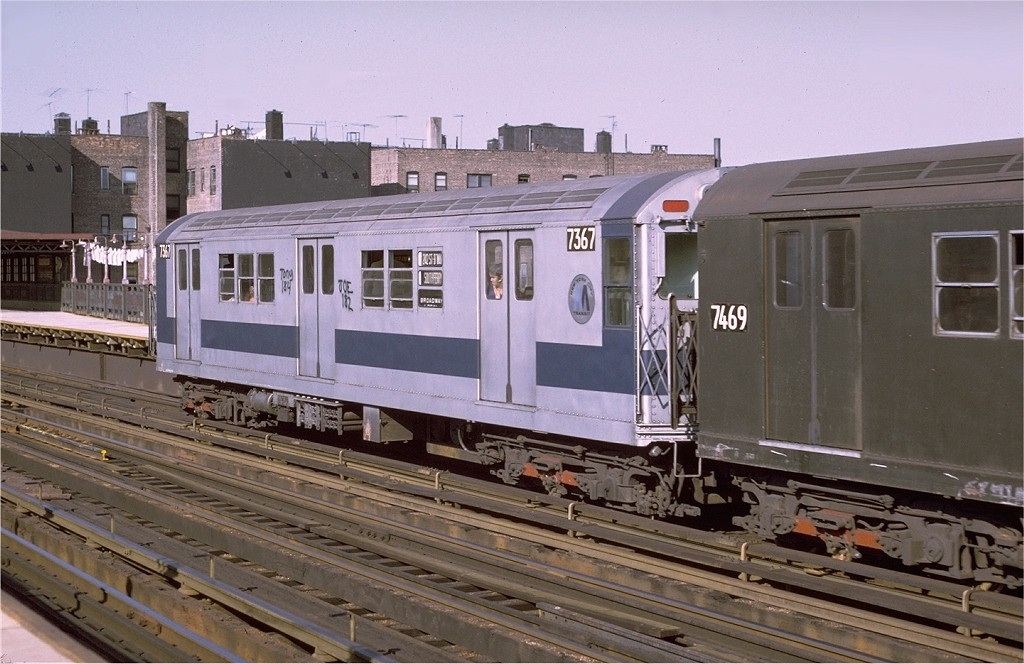 (191k, 1024x664)<br><b>Country:</b> United States<br><b>City:</b> New York<br><b>System:</b> New York City Transit<br><b>Line:</b> IRT West Side Line<br><b>Location:</b> 238th Street <br><b>Route:</b> 1<br><b>Car:</b> R-22 (St. Louis, 1957-58) 7367 <br><b>Photo by:</b> Joe Testagrose<br><b>Date:</b> 8/14/1971<br><b>Viewed (this week/total):</b> 3 / 2593
