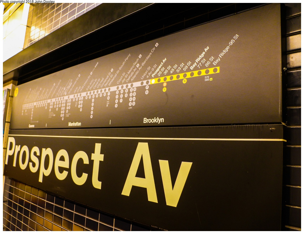 (273k, 1044x804)<br><b>Country:</b> United States<br><b>City:</b> New York<br><b>System:</b> New York City Transit<br><b>Line:</b> BMT 4th Avenue<br><b>Location:</b> Prospect Avenue <br><b>Photo by:</b> John Dooley<br><b>Date:</b> 11/4/2017<br><b>Notes:</b> Station renovations.<br><b>Viewed (this week/total):</b> 3 / 217