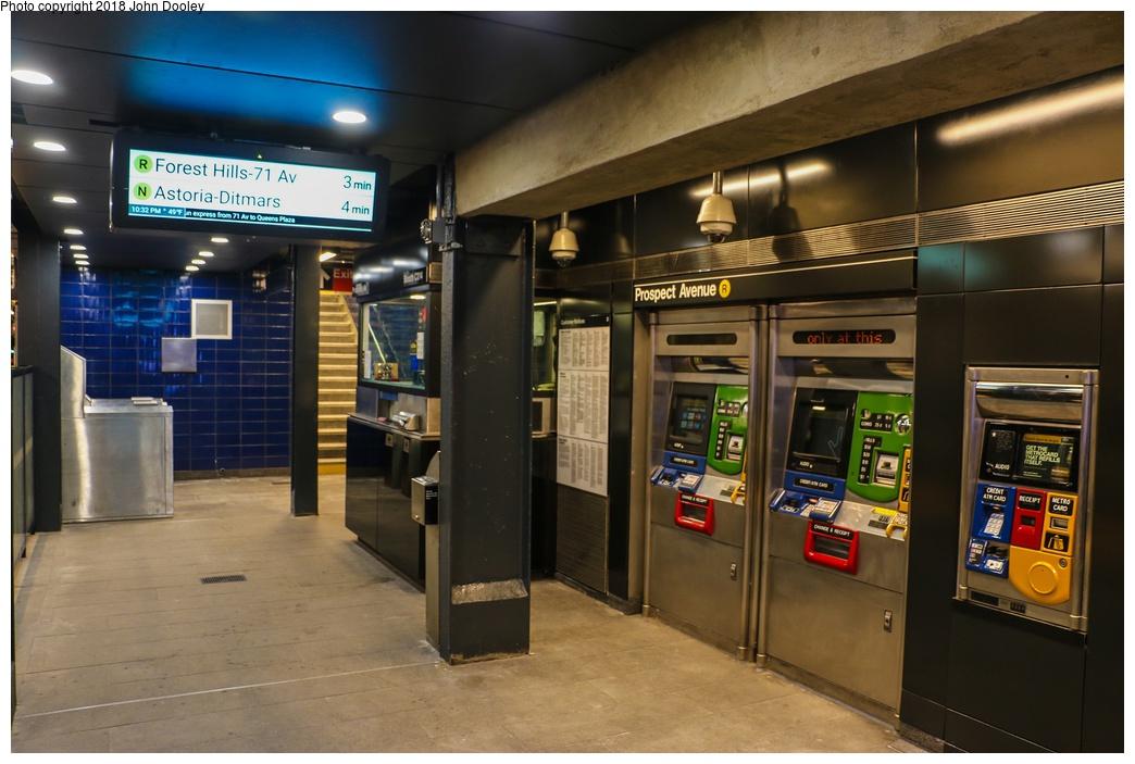 (244k, 1044x703)<br><b>Country:</b> United States<br><b>City:</b> New York<br><b>System:</b> New York City Transit<br><b>Line:</b> BMT 4th Avenue<br><b>Location:</b> Prospect Avenue <br><b>Photo by:</b> John Dooley<br><b>Date:</b> 11/4/2017<br><b>Notes:</b> Station renovations.<br><b>Viewed (this week/total):</b> 0 / 556