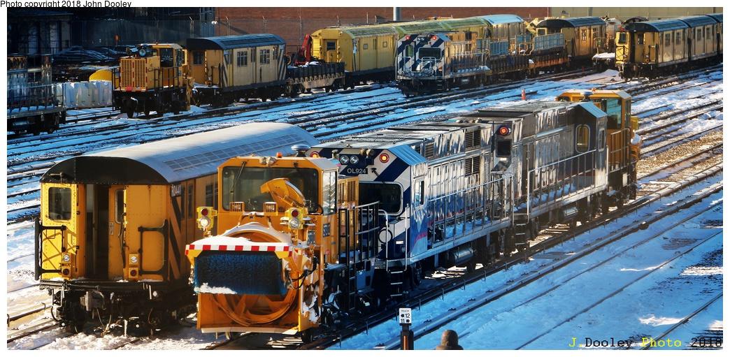 (334k, 1044x511)<br><b>Country:</b> United States<br><b>City:</b> New York<br><b>System:</b> New York City Transit<br><b>Location:</b> 36th Street Yard<br><b>Car:</b> Snowblower ST302 <br><b>Photo by:</b> John Dooley<br><b>Date:</b> 1/6/2018<br><b>Viewed (this week/total):</b> 3 / 662