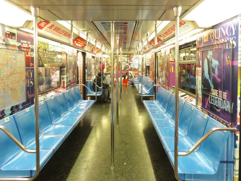 (154k, 1024x768)<br><b>Country:</b> United States<br><b>City:</b> New York<br><b>System:</b> New York City Transit<br><b>Route:</b> S<br><b>Car:</b> R-62A (Bombardier, 1984-1987)  1937 <br><b>Photo by:</b> Robbie Rosenfeld<br><b>Date:</b> 10/17/2017<br><b>Notes:</b> JBL ad wrap<br><b>Viewed (this week/total):</b> 8 / 255