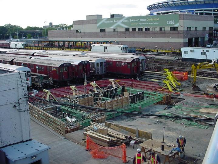 (140k, 719x540)<br><b>Country:</b> United States<br><b>City:</b> New York<br><b>System:</b> New York City Transit<br><b>Location:</b> Corona Yard<br><b>Photo by:</b> Ian Dale<br><b>Date:</b> 10/6/2003<br><b>Viewed (this week/total):</b> 8 / 500