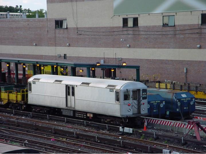 (104k, 719x540)<br><b>Country:</b> United States<br><b>City:</b> New York<br><b>System:</b> New York City Transit<br><b>Location:</b> Corona Yard<br><b>Car:</b> R-127/R-134 (Kawasaki, 1991-1996) EP012 <br><b>Photo by:</b> Ian Dale<br><b>Date:</b> 10/6/2003<br><b>Viewed (this week/total):</b> 0 / 440