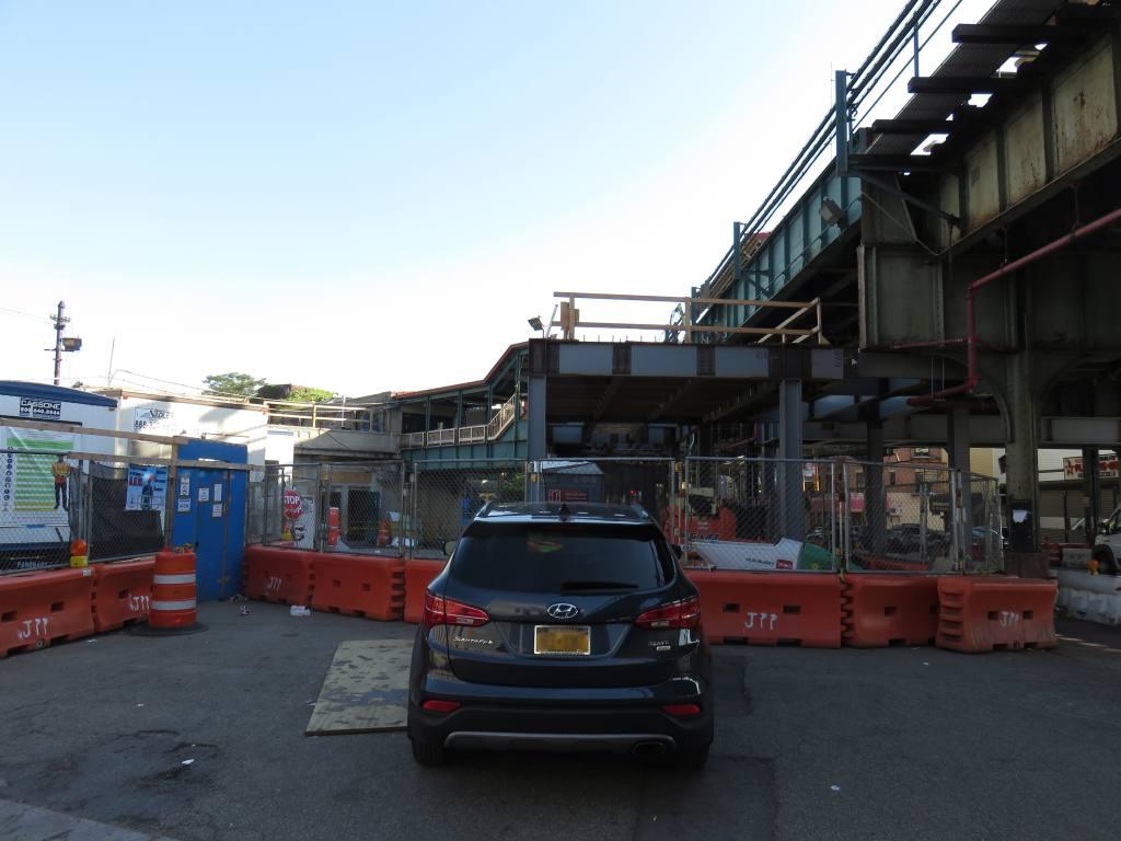 (99k, 1024x768)<br><b>Country:</b> United States<br><b>City:</b> New York<br><b>System:</b> New York City Transit<br><b>Line:</b> BMT Sea Beach Line<br><b>Location:</b> New Utrecht Avenue <br><b>Photo by:</b> Robbie Rosenfeld<br><b>Date:</b> 5/24/2018<br><b>Notes:</b> Station renovations.<br><b>Viewed (this week/total):</b> 2 / 379
