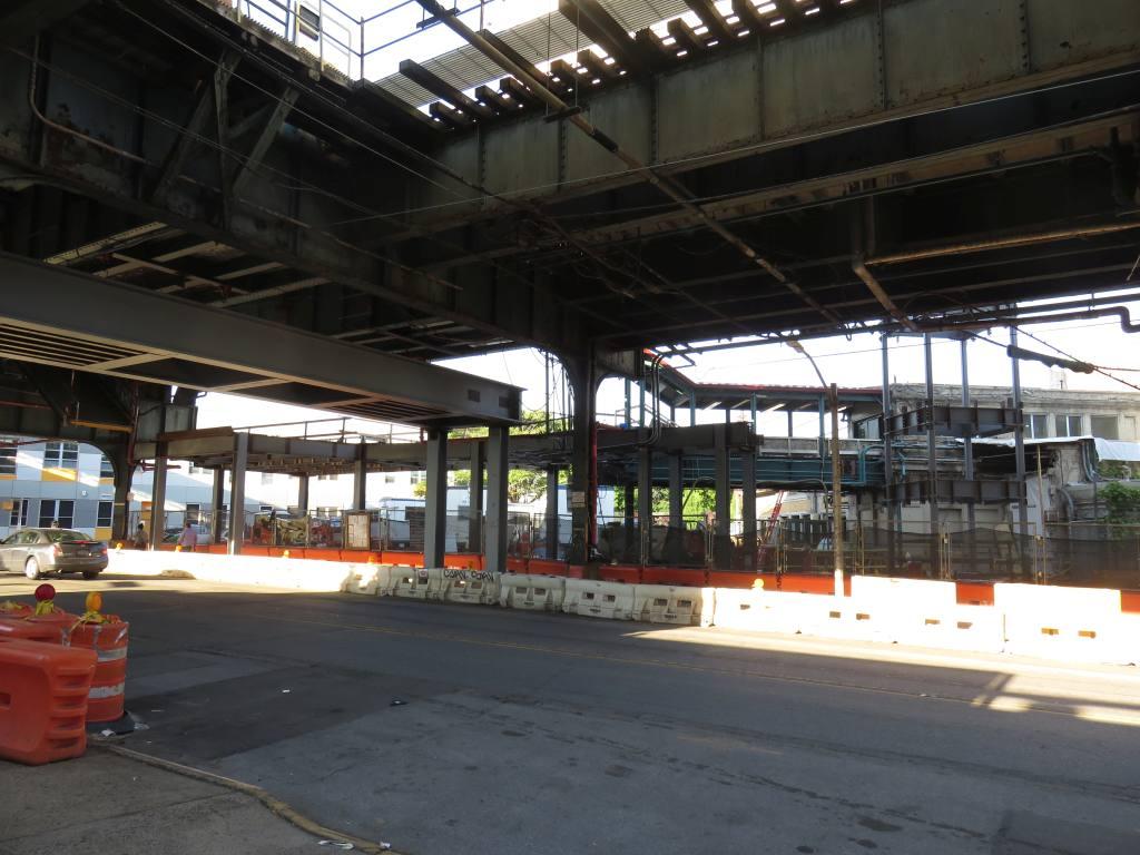 (123k, 1024x768)<br><b>Country:</b> United States<br><b>City:</b> New York<br><b>System:</b> New York City Transit<br><b>Line:</b> BMT Sea Beach Line<br><b>Location:</b> New Utrecht Avenue <br><b>Photo by:</b> Robbie Rosenfeld<br><b>Date:</b> 5/24/2018<br><b>Notes:</b> Station renovations.<br><b>Viewed (this week/total):</b> 3 / 383