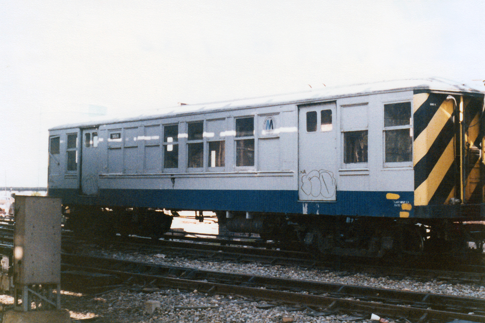 (775k, 1600x1067)<br><b>Country:</b> United States<br><b>City:</b> New York<br><b>System:</b> New York City Transit<br><b>Location:</b> Coney Island Yard<br><b>Car:</b> BMT Q 30618 (ex-1631)<br><b>Collection of:</b> Nicholas Fabrizio<br><b>Notes:</b> Pump train - reach car.<br><b>Viewed (this week/total):</b> 11 / 86