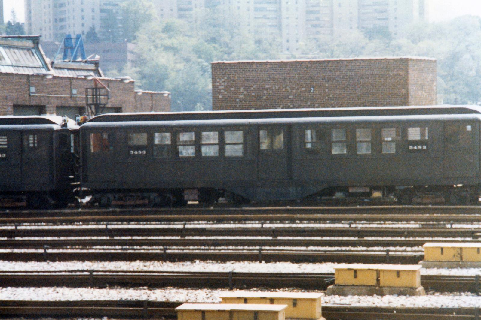(905k, 1600x1066)<br><b>Country:</b> United States<br><b>City:</b> New York<br><b>System:</b> New York City Transit<br><b>Location:</b> 207th Street Yard<br><b>Car:</b> Low-V (Museum Train) 5483 <br><b>Collection of:</b> Nicholas Fabrizio<br><b>Viewed (this week/total):</b> 32 / 113
