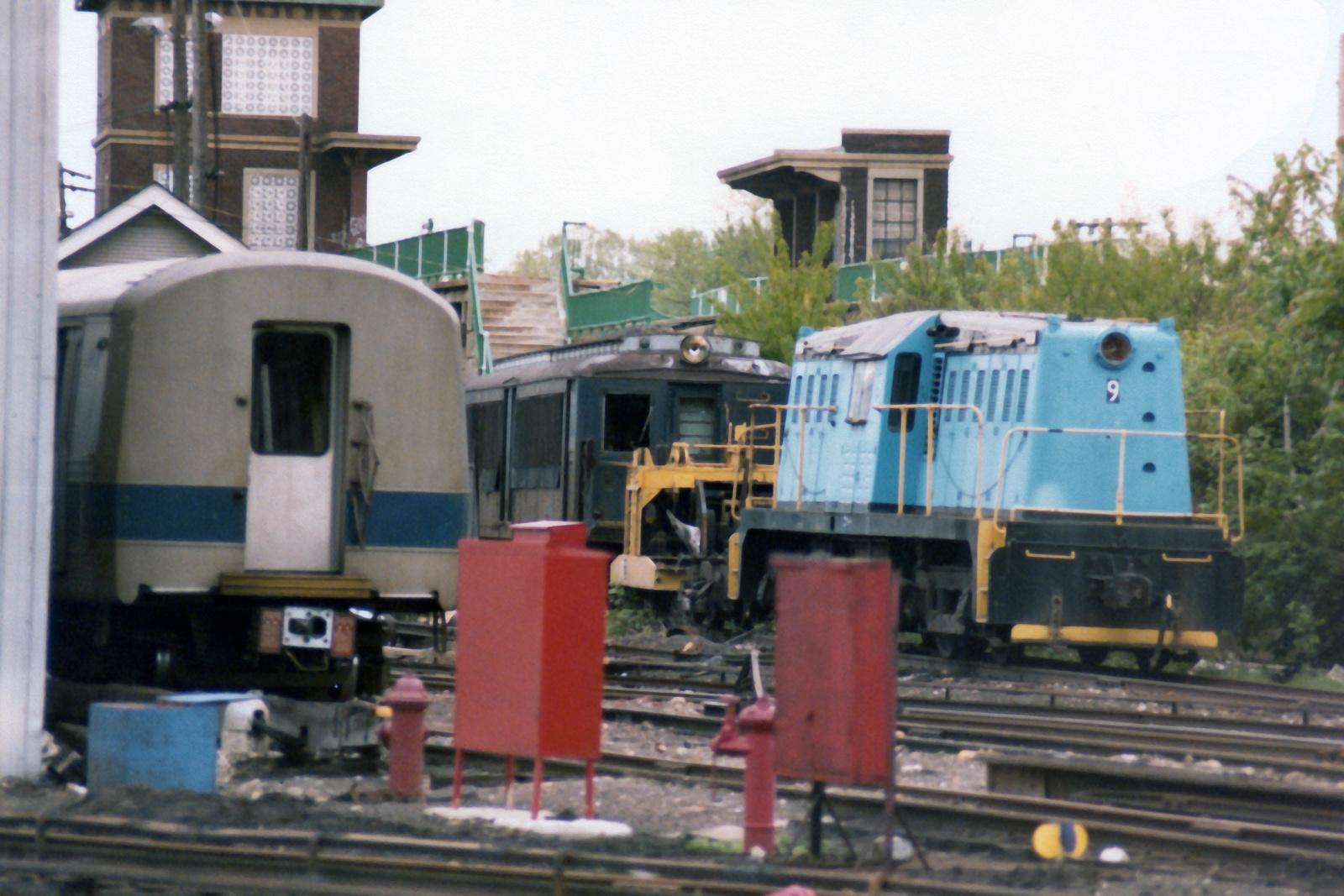 (646k, 1600x1067)<br><b>Country:</b> United States<br><b>City:</b> New York<br><b>System:</b> New York City Transit<br><b>Line:</b> SIRT<br><b>Location:</b> Clifton Yard/Shops <br><b>Car:</b> Whitcomb Locomotive 9 <br><b>Collection of:</b> Nicholas Fabrizio<br><b>Viewed (this week/total):</b> 4 / 292