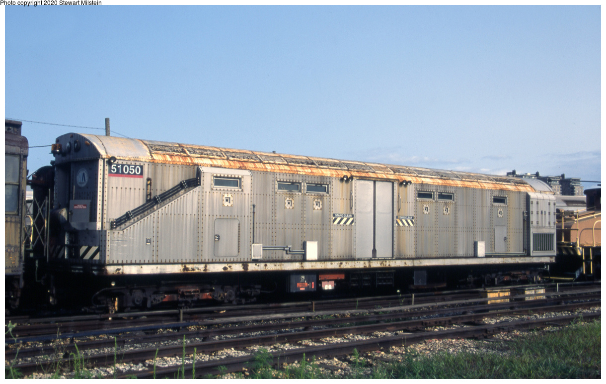 (633k, 1620x1022)<br><b>Country:</b> United States<br><b>City:</b> New York<br><b>System:</b> New York City Transit<br><b>Location:</b> Coney Island Yard<br><b>Car:</b> Columbia Pictures <i>Money Train</i> 51050 <br><b>Photo by:</b> Stewart Milstein<br><b>Date:</b> 7/28/2014<br><b>Viewed (this week/total):</b> 1 / 196
