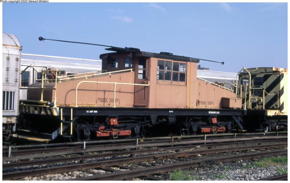 (592k, 1620x1022)<br><b>Country:</b> United States<br><b>City:</b> New York<br><b>System:</b> New York City Transit<br><b>Location:</b> Coney Island Yard<br><b>Car:</b> SBK Steeplecab 7 <br><b>Photo by:</b> Stewart Milstein<br><b>Date:</b> 7/8/2014<br><b>Viewed (this week/total):</b> 0 / 133