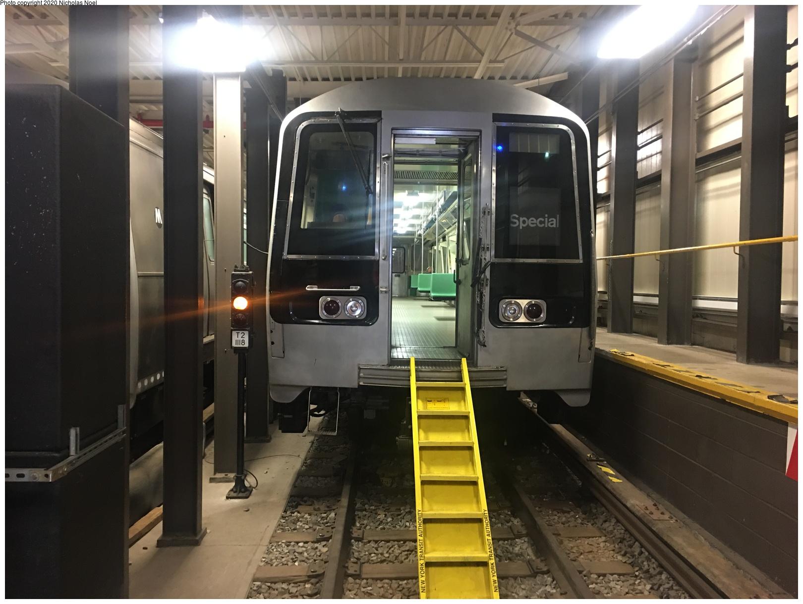 (547k, 1620x1220)<br><b>Country:</b> United States<br><b>City:</b> New York<br><b>System:</b> New York City Transit<br><b>Location:</b> Coney Island Yard-Training Facilities<br><b>Car:</b> R-110B (Bombardier, 1992) 3004 <br><b>Photo by:</b> Nicholas Noel<br><b>Date:</b> 10/17/2019<br><b>Viewed (this week/total):</b> 38 / 158