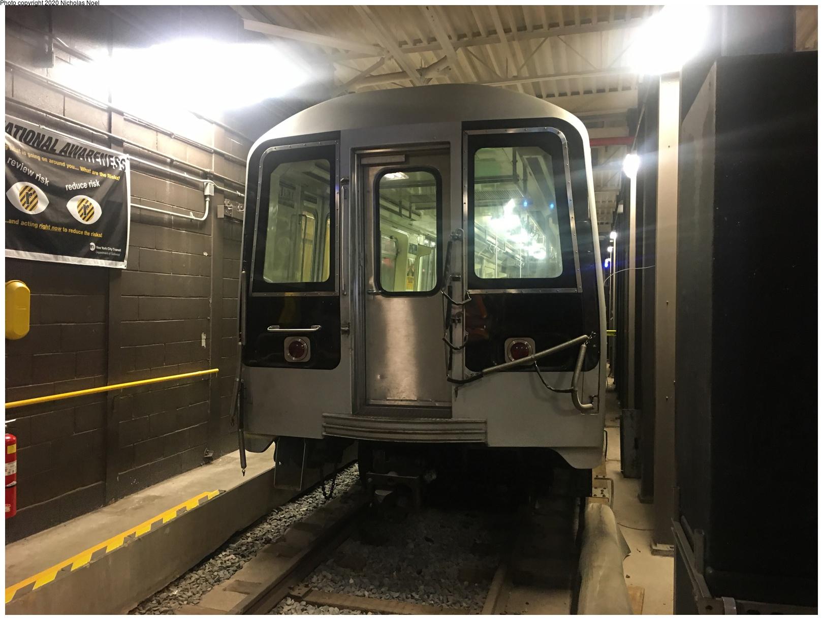(527k, 1620x1220)<br><b>Country:</b> United States<br><b>City:</b> New York<br><b>System:</b> New York City Transit<br><b>Location:</b> Coney Island Yard-Training Facilities<br><b>Car:</b> R-110B (Bombardier, 1992) 3004 <br><b>Photo by:</b> Nicholas Noel<br><b>Date:</b> 10/17/2019<br><b>Viewed (this week/total):</b> 5 / 420