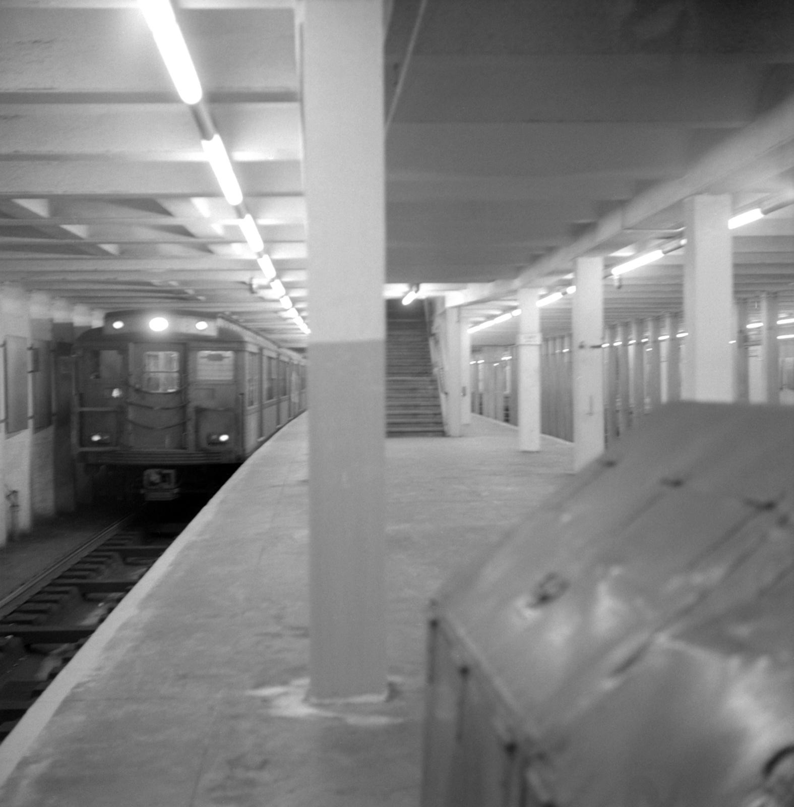 (506k, 1575x1600)<br><b>Country:</b> United States<br><b>City:</b> Philadelphia, PA<br><b>System:</b> SEPTA (or Predecessor)<br><b>Line:</b> Broad Street Subway<br><b>Location:</b> Olney<br><b>Collection of:</b> David Pirmann<br><b>Date:</b> 9/24/1966<br><b>Viewed (this week/total):</b> 5 / 76