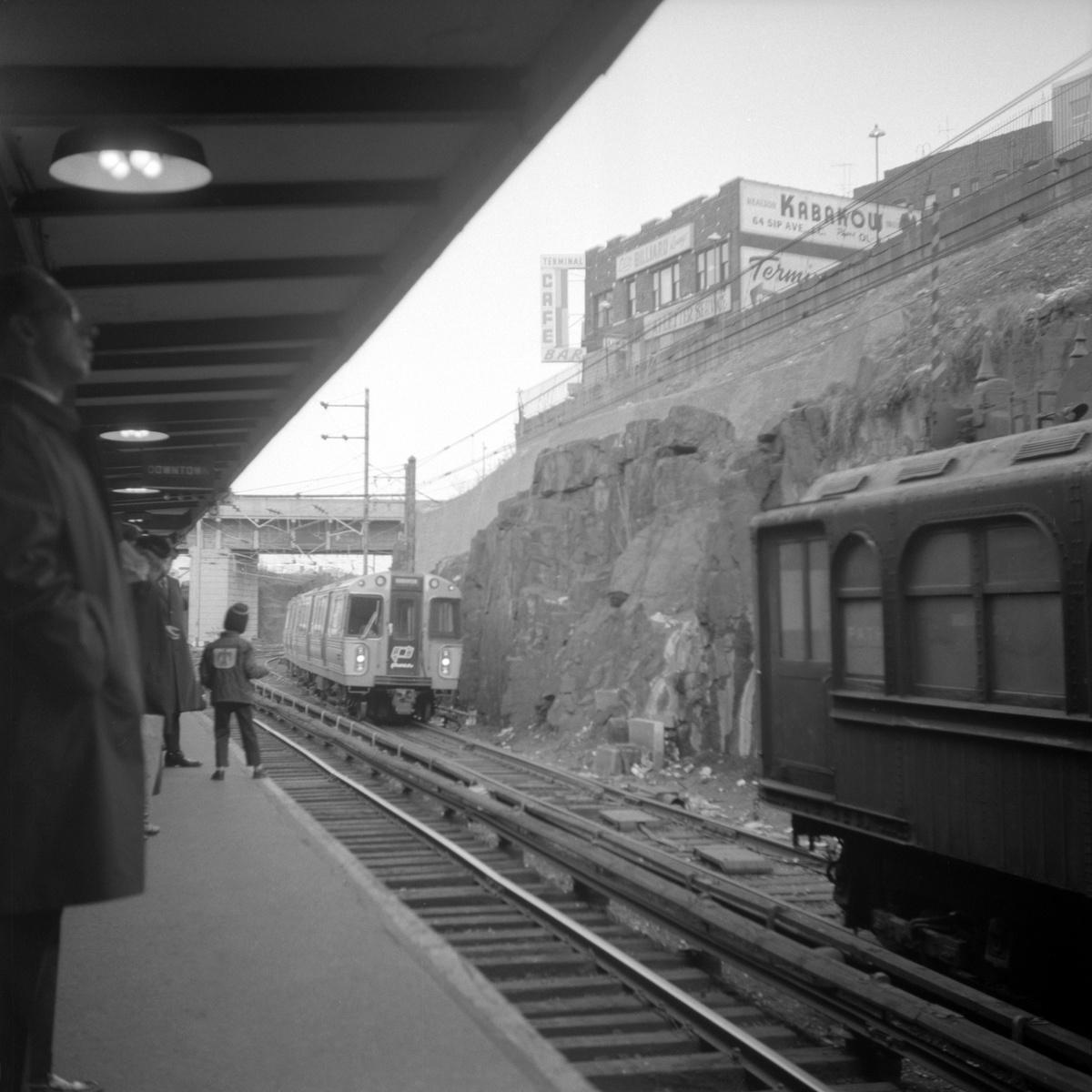 (342k, 1200x1200)<br><b>Country:</b> United States<br><b>City:</b> Jersey City, NJ<br><b>System:</b> PATH<br><b>Location:</b> Journal Square<br><b>Car:</b> PATH PA-1 (St. Louis Car, 1965)  <br><b>Collection of:</b> David Pirmann<br><b>Date:</b> 4/23/1967<br><b>Viewed (this week/total):</b> 3 / 55