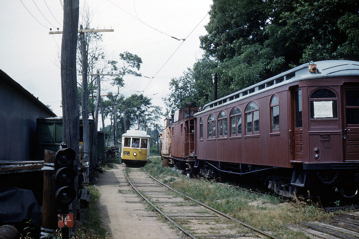 (602k, 1200x800)<br><b>Country:</b> United States<br><b>City:</b> East Haven/Branford, Ct.<br><b>System:</b> Shore Line Trolley Museum<br><b>Car:</b> Connecticut Company 1339 <br><b>Collection of:</b> David Pirmann<br><b>Date:</b> 8/1962<br><b>Viewed (this week/total):</b> 1 / 59