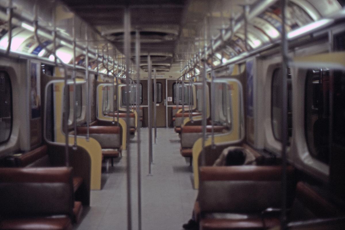 (383k, 1200x800)<br><b>Country:</b> Canada<br><b>City:</b> Toronto<br><b>System:</b> TTC<br><b>Line:</b> TTC Yonge-University-Spadina Subway<br><b>Car:</b>  5614 <br><b>Collection of:</b> David Pirmann<br><b>Date:</b> 6/1984<br><b>Viewed (this week/total):</b> 0 / 85