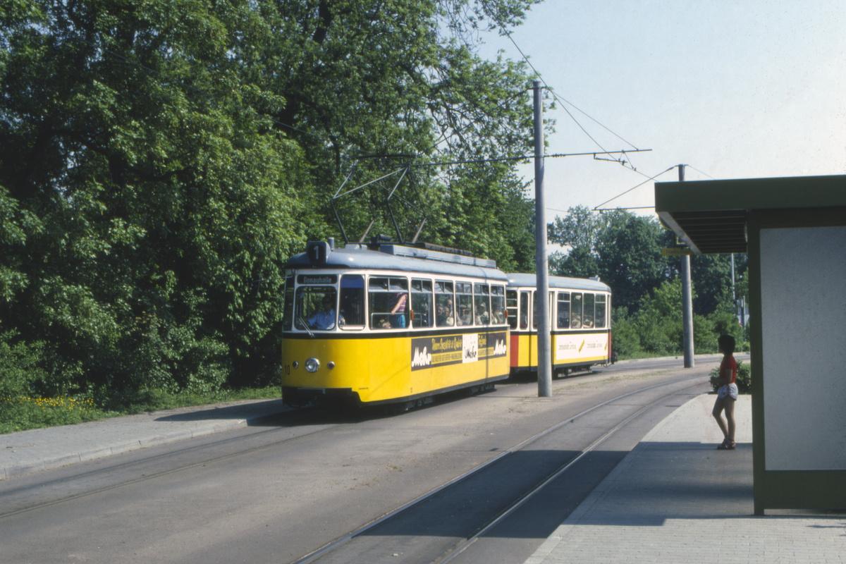 (503k, 1200x800)<br><b>Country:</b> Germany<br><b>City:</b> Ulm<br><b>System:</b> SWU (Stadtwerke Ulm)<br><b>Car:</b>  10 <br><b>Photo by:</b> Barry Smith<br><b>Collection of:</b> David Pirmann<br><b>Date:</b> 5/30/1982<br><b>Viewed (this week/total):</b> 0 / 52
