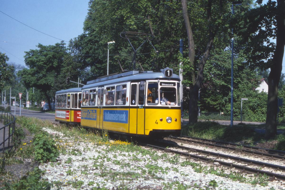 (632k, 1200x800)<br><b>Country:</b> Germany<br><b>City:</b> Ulm<br><b>System:</b> SWU (Stadtwerke Ulm)<br><b>Car:</b>  4 <br><b>Photo by:</b> Barry Smith<br><b>Collection of:</b> David Pirmann<br><b>Date:</b> 5/30/1982<br><b>Viewed (this week/total):</b> 2 / 11