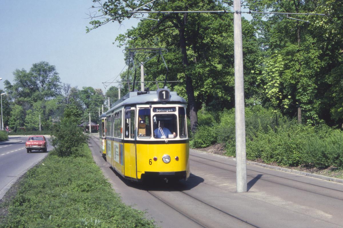 (594k, 1200x800)<br><b>Country:</b> Germany<br><b>City:</b> Ulm<br><b>System:</b> SWU (Stadtwerke Ulm)<br><b>Car:</b>  6 <br><b>Photo by:</b> Barry Smith<br><b>Collection of:</b> David Pirmann<br><b>Date:</b> 5/30/1982<br><b>Viewed (this week/total):</b> 1 / 6