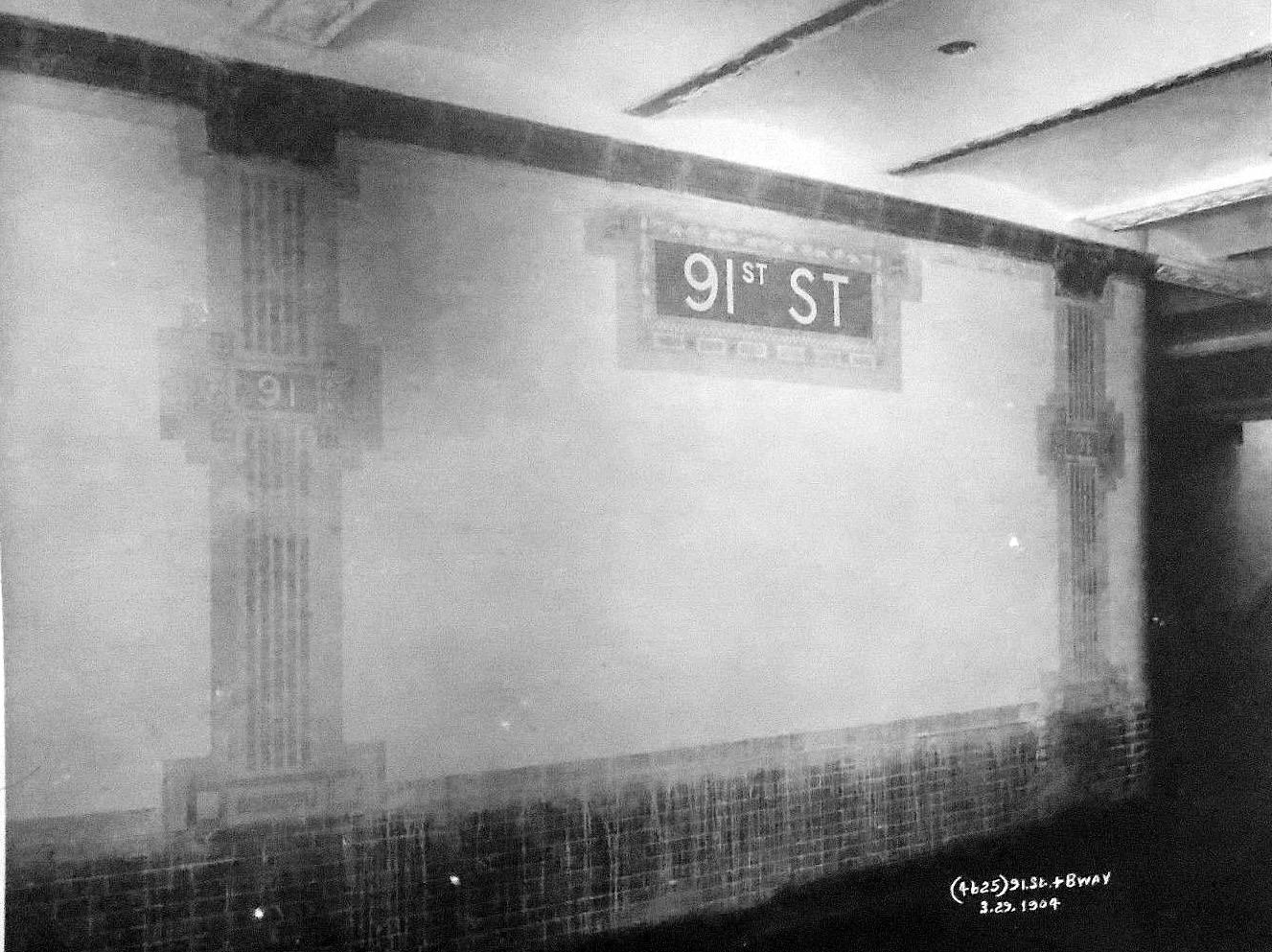 (924k, 1327x993)<br><b>Country:</b> United States<br><b>City:</b> New York<br><b>System:</b> New York City Transit<br><b>Line:</b> IRT West Side Line<br><b>Location:</b> 91st Street<br><b>Date:</b> 3/29/1904<br><b>Viewed (this week/total):</b> 9 / 163