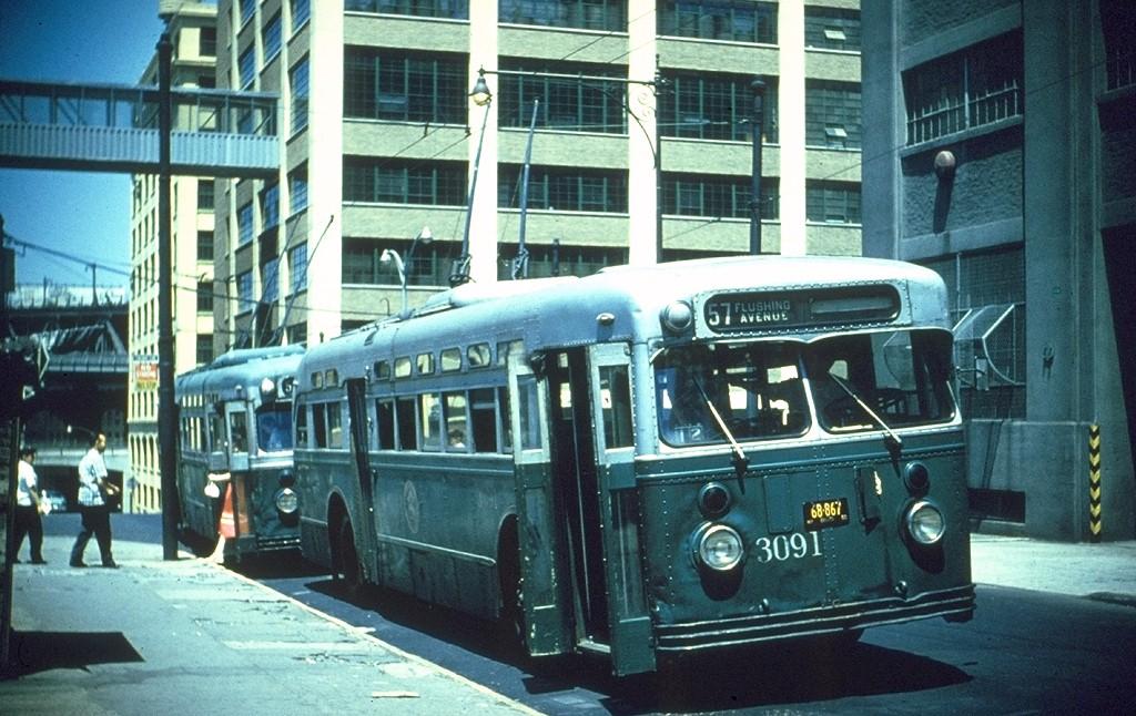 (217k, 1024x646)<br><b>Country:</b> United States<br><b>City:</b> New York<br><b>System:</b> B&QT Trolleybus<br><b>Route:</b> 57<br><b>Car:</b>  3091 <br><b>Collection of:</b> Joe Testagrose<br><b>Viewed (this week/total):</b> 4 / 2261