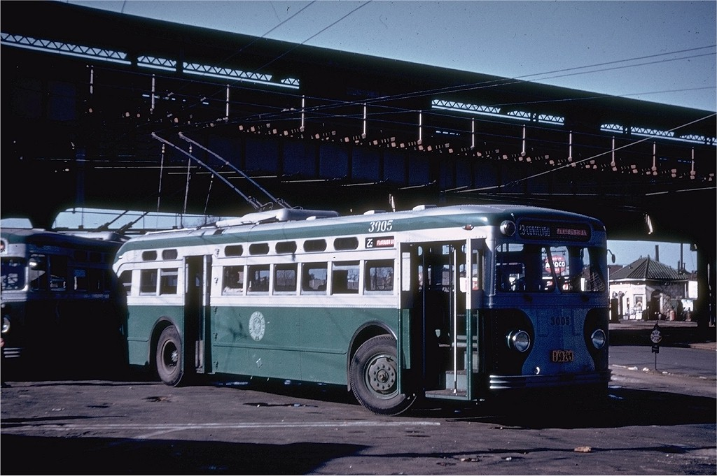 (186k, 1024x681)<br><b>Country:</b> United States<br><b>City:</b> New York<br><b>System:</b> B&QT Trolleybus<br><b>Location:</b> New Utrecht & 62nd Street<br><b>Route:</b> B23<br><b>Car:</b>  3005 <br><b>Collection of:</b> Joe Testagrose<br><b>Viewed (this week/total):</b> 0 / 5945