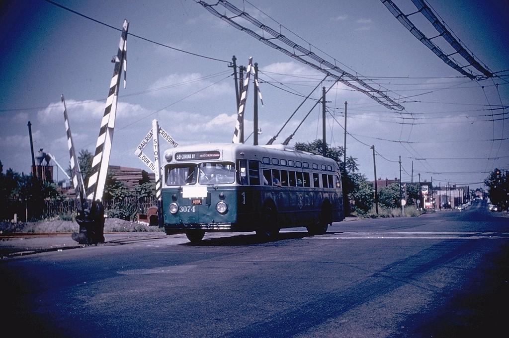 (224k, 1024x681)<br><b>Country:</b> United States<br><b>City:</b> New York<br><b>System:</b> B&QT Trolleybus<br><b>Location:</b> Flushing & LIRR Montauk Line<br><b>Car:</b>  3074 <br><b>Collection of:</b> Joe Testagrose<br><b>Viewed (this week/total):</b> 0 / 4620