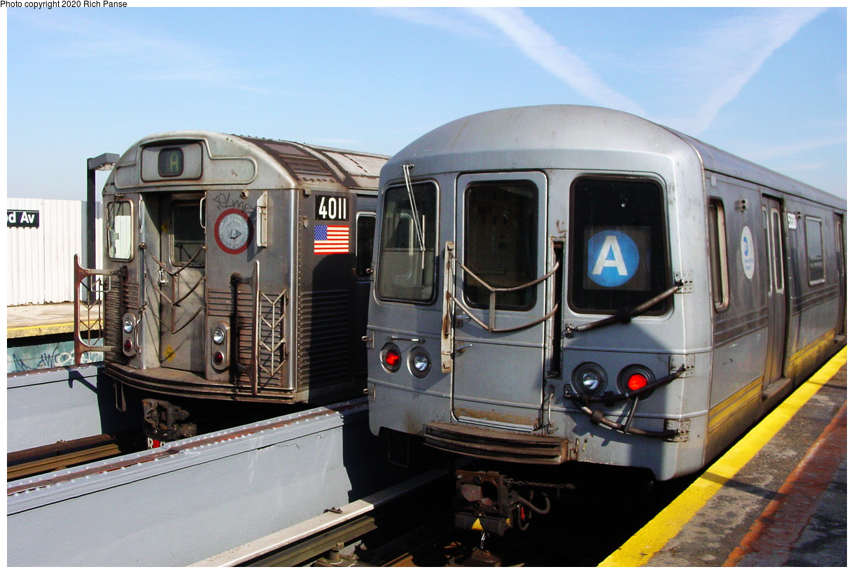 (500k, 1220x820)<br><b>Country:</b> United States<br><b>City:</b> New York<br><b>System:</b> New York City Transit<br><b>Line:</b> IND Fulton Street Line<br><b>Location:</b> 111th Street-Greenwood Avenue<br><b>Route:</b> Layup<br><b>Car:</b> R-38 (St. Louis, 1966-1967) 4011 <br><b>Photo by:</b> Richard Panse<br><b>Date:</b> 2/10/2004<br><b>Viewed (this week/total):</b> 6 / 40