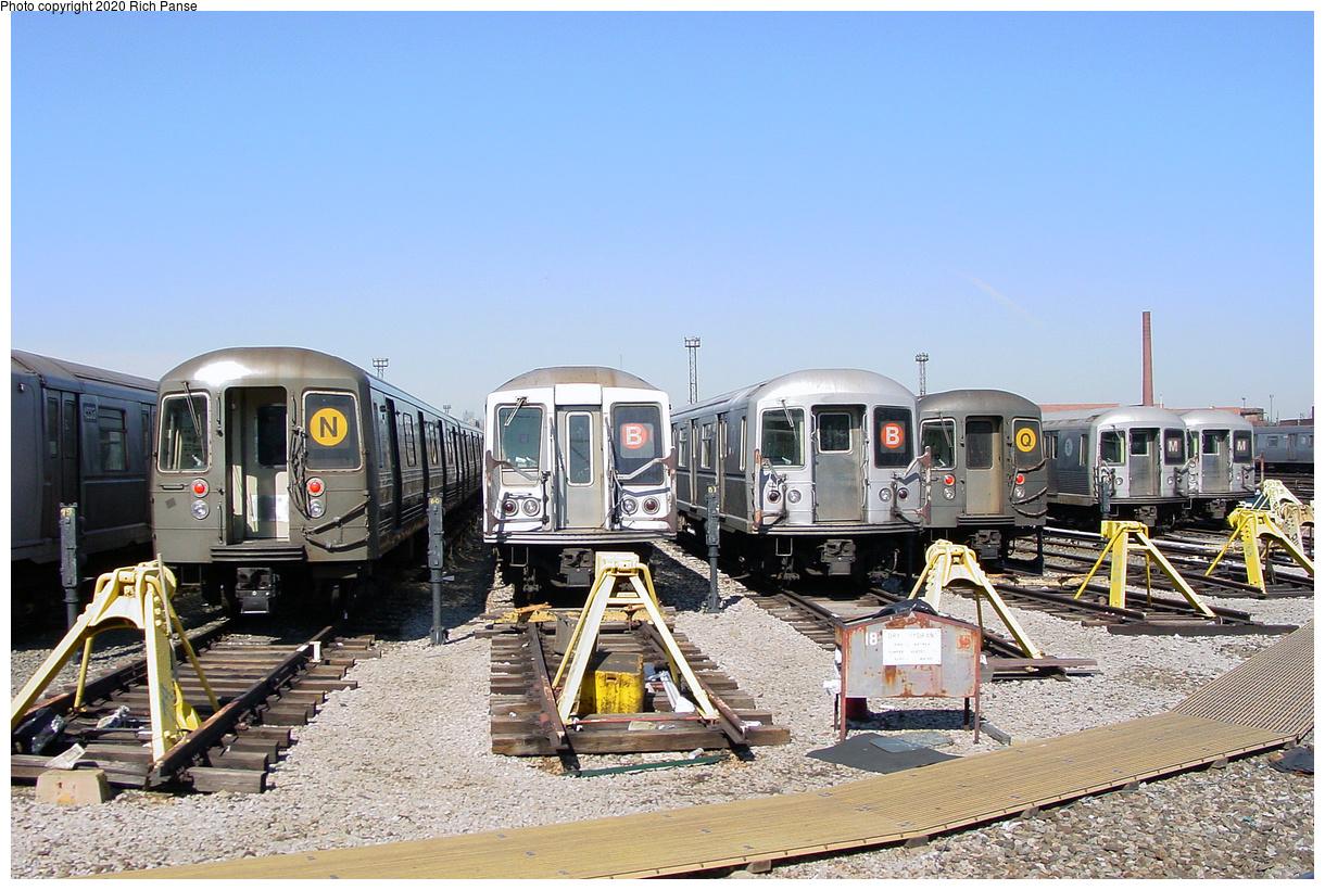 (534k, 1220x820)<br><b>Country:</b> United States<br><b>City:</b> New York<br><b>System:</b> New York City Transit<br><b>Location:</b> Coney Island Yard<br><b>Photo by:</b> Richard Panse<br><b>Date:</b> 2/28/2004<br><b>Viewed (this week/total):</b> 7 / 47