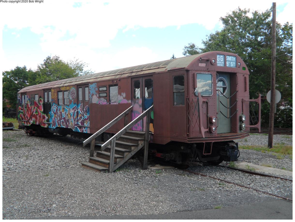 (512k, 1220x920)<br><b>Country:</b> United States<br><b>City:</b> Kingston, NY<br><b>System:</b> Trolley Museum of New York<br><b>Car:</b> R-16 (American Car & Foundry, 1955) 6398 <br><b>Photo by:</b> Bob Wright<br><b>Date:</b> 8/17/2014<br><b>Viewed (this week/total):</b> 14 / 40