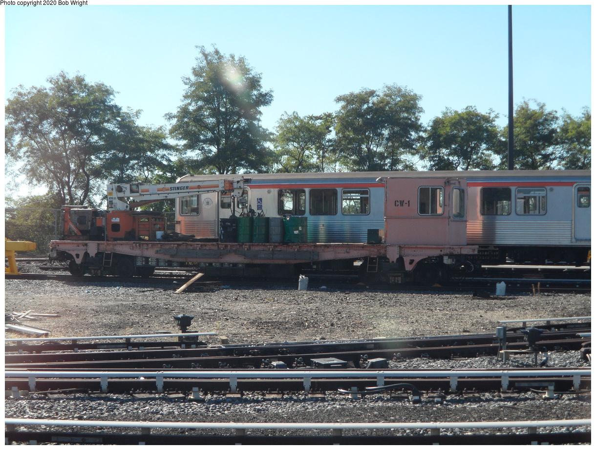 (560k, 1220x920)<br><b>Country:</b> United States<br><b>City:</b> Philadelphia, PA<br><b>System:</b> SEPTA (or Predecessor)<br><b>Line:</b> Broad Street Subway<br><b>Location:</b> Fern Rock Yard/Shops<br><b>Car:</b> SEPTA B-4 (Kawasaki, 1982)  <br><b>Photo by:</b> Bob Wright<br><b>Date:</b> 9/27/2014<br><b>Viewed (this week/total):</b> 7 / 25