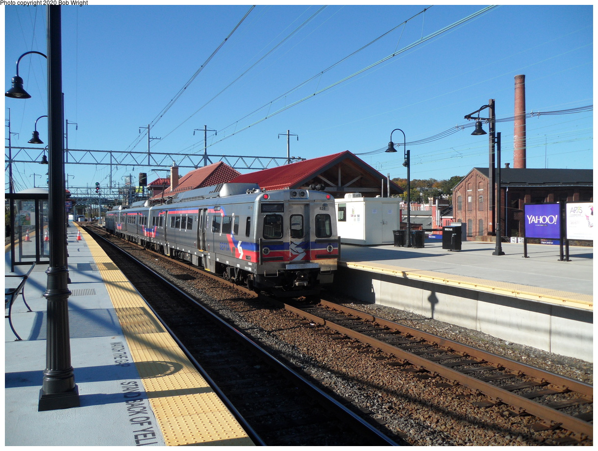 (510k, 1220x920)<br><b>Country:</b> United States<br><b>City:</b> Philadelphia, PA<br><b>System:</b> SEPTA Regional Rail<br><b>Line:</b> SEPTA Regional Rail-Center City<br><b>Location:</b> Wayne Jct.<br><b>Car:</b> SEPTA Silverliner V 838 <br><b>Photo by:</b> Bob Wright<br><b>Date:</b> 10/17/2015<br><b>Viewed (this week/total):</b> 6 / 19