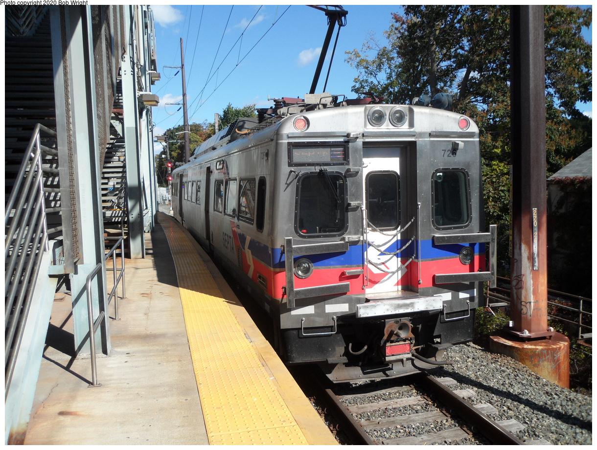 (559k, 1220x920)<br><b>Country:</b> United States<br><b>City:</b> Philadelphia, PA<br><b>System:</b> SEPTA Regional Rail<br><b>Line:</b> SEPTA R1<br><b>Location:</b> Fern Rock TC<br><b>Car:</b> SEPTA Silverliner V 726 <br><b>Photo by:</b> Bob Wright<br><b>Date:</b> 10/17/2015<br><b>Viewed (this week/total):</b> 8 / 28