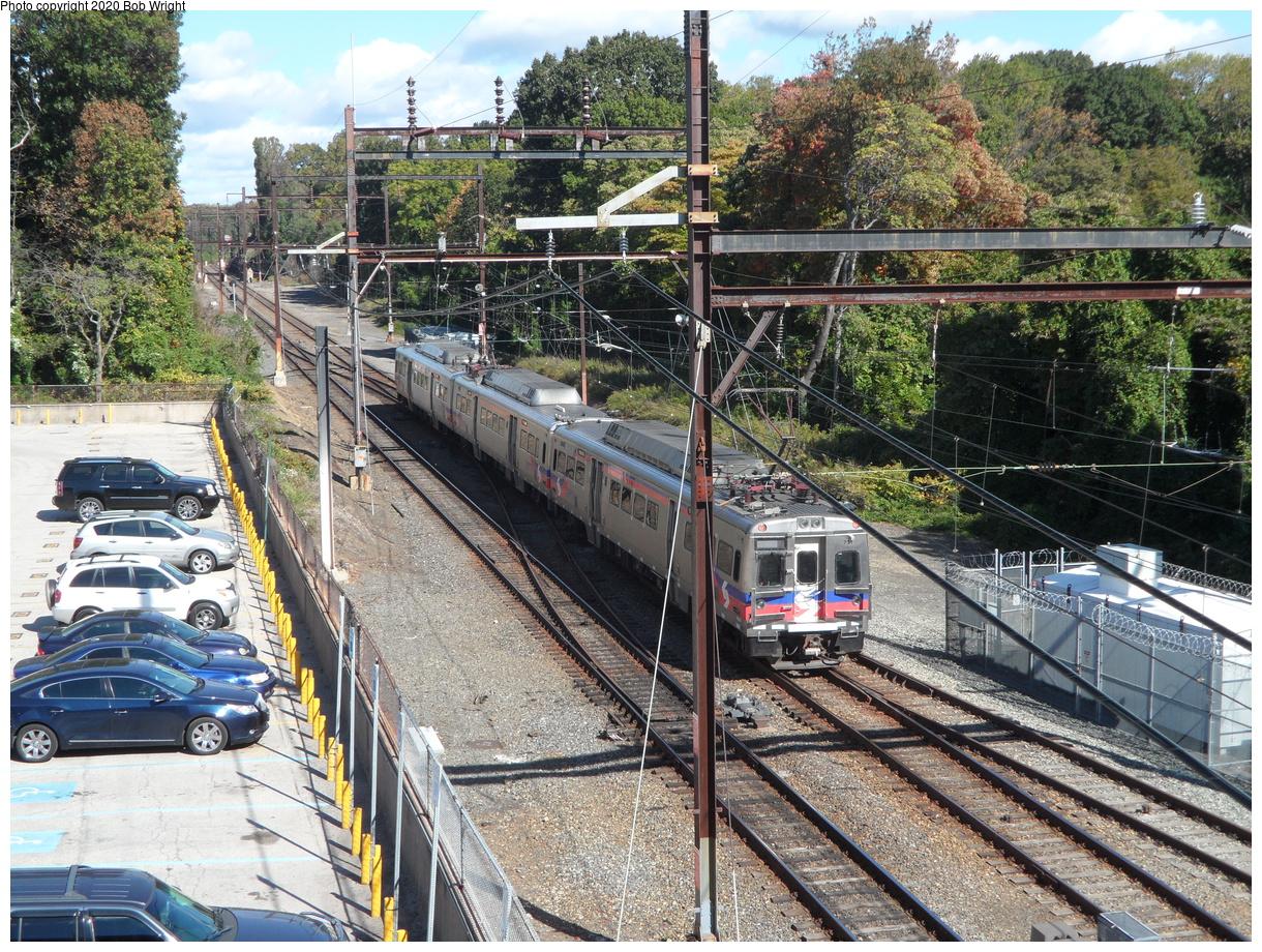 (714k, 1220x920)<br><b>Country:</b> United States<br><b>City:</b> Philadelphia, PA<br><b>System:</b> SEPTA Regional Rail<br><b>Line:</b> SEPTA R1<br><b>Location:</b> Fern Rock TC<br><b>Car:</b> SEPTA Silverliner V 731 <br><b>Photo by:</b> Bob Wright<br><b>Date:</b> 10/17/2015<br><b>Viewed (this week/total):</b> 7 / 28