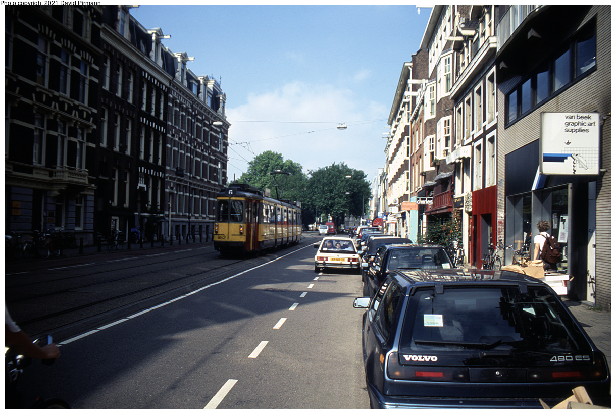 (503k, 1220x820)<br><b>Country:</b> The Netherlands<br><b>City:</b> Amsterdam<br><b>System:</b> GVB (Gemeente Vervoerbedrijf)<br><b>Location:</b> Weteringschans<br><b>Route:</b> 6<br><b>Car:</b> Type 4G 652 <br><b>Photo by:</b> David Pirmann<br><b>Date:</b> 8/26/1999<br><b>Viewed (this week/total):</b> 8 / 12