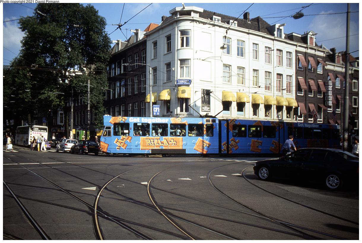 (535k, 1220x820)<br><b>Country:</b> The Netherlands<br><b>City:</b> Amsterdam<br><b>System:</b> GVB (Gemeente Vervoerbedrijf)<br><b>Location:</b> C. Huygensstraat & Overtoom<br><b>Route:</b> 20<br><b>Car:</b> Type 9G 782 <br><b>Photo by:</b> David Pirmann<br><b>Date:</b> 8/28/1999<br><b>Viewed (this week/total):</b> 1 / 13