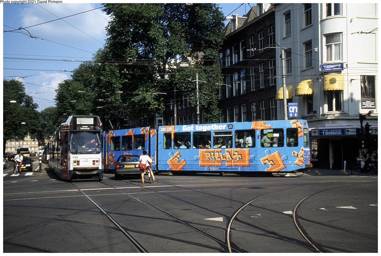 (595k, 1220x820)<br><b>Country:</b> The Netherlands<br><b>City:</b> Amsterdam<br><b>System:</b> GVB (Gemeente Vervoerbedrijf)<br><b>Location:</b> C. Huygensstraat & Overtoom<br><b>Route:</b> 20<br><b>Car:</b> Type 9G 782 <br><b>Photo by:</b> David Pirmann<br><b>Date:</b> 8/28/1999<br><b>Viewed (this week/total):</b> 4 / 8